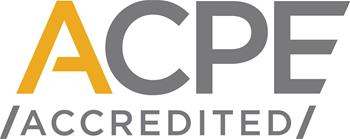 ACPE accredited logo