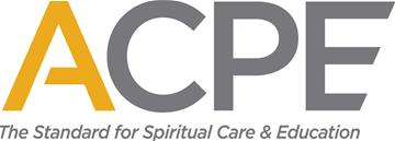 ACPE logo The Standard for Spiritual Care and Education